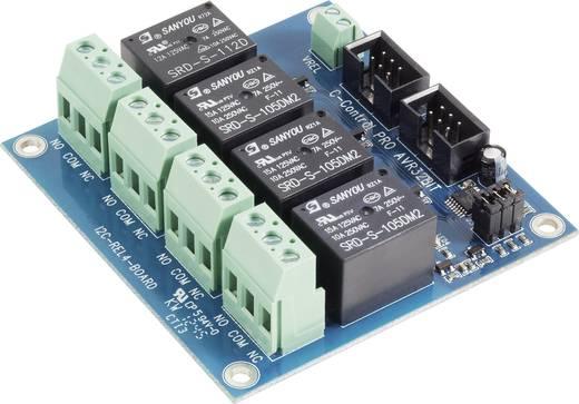 REL4 tábla, C-Control PRO AVR, 32 bites 12 V/DC <b