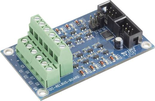 Relé Bus bővítő tábla AVR 32 bites alaplaphoz, C-Control Pro