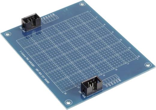 C-Control PRO AVR 32 bites Unit-Bus bővítő tábla, 6 pólusú