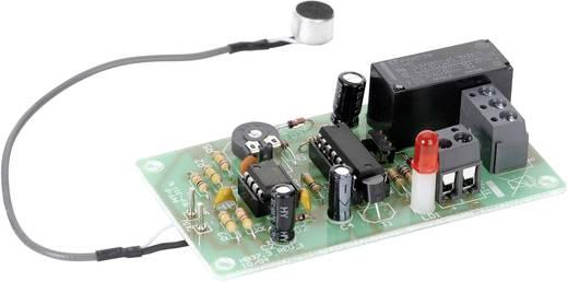 Tapskapcsoló építőkészlet kondenzátor mikrofonnal, max. 15 V/DC, Tru Components
