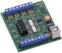 Deditec USB-OPTOIN-8_A Bemeneti modul USB Digitális bemenetek száma: 8 Deditec