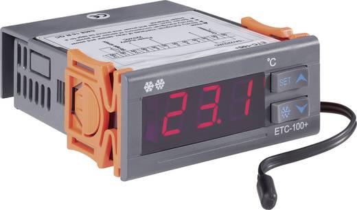 Hőmérséklet szabályozó VOLTCRAFT ETC-100+ -40 - +120 °C Relé, 10 A (H x Sz x Ma) 88 x 75 x 34.5 mm