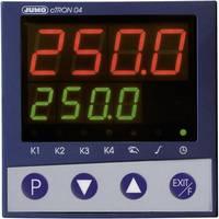 Jumo cTRON04 PID Hőmérséklet szabályozó J, T, K, E, N, S, R, B, Pt100, Pt1000 Relé, 3 A, Tranzisztor (H x Sz x Ma) 70 x (00495659) Jumo