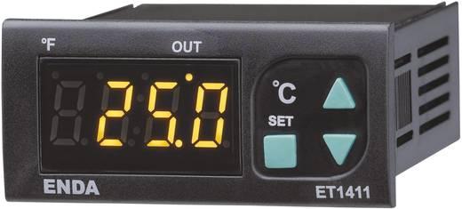 Hőmérséklet szabályozó Enda ET1411-NTC NTC -60 - 150 °C Relé, 8 A (H x Sz x Ma) 71 x 77 x 35 mm
