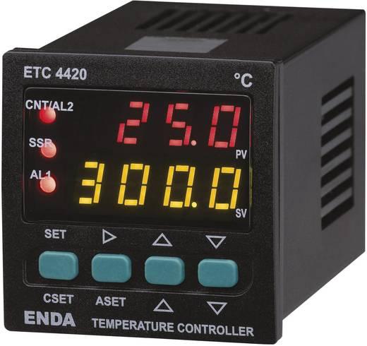 PID Hőmérséklet szabályozó Enda ETC4420 Pt100, J, K, T, S, R Relé, 2 A, SSR (H x Sz x Ma) 94 x 48 x 48 mm