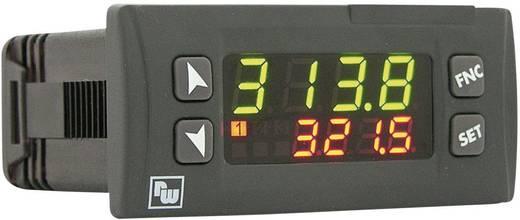 Wachendorff PID univerzális szabályozó UR3274 UR3274U6 24 - 230 V DC/AC Kimenetek 1 relé Érzékelő típus Termoelem Typ K, S, R, J, Pt100, Pt500, Pt1000, Ni100, PTC1K, NTC10K