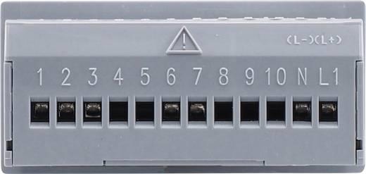 JUMO di eco digitális hőmérsékletjelző műszer 230 V/ACBeépítési méret 69 x 28,5 mmBeépítési mélység 56 mmÉrzékelő típus Pt100, Pt1000, KTY2X-6