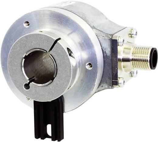 Inkrementális elfordulás jeladó üreges tengellyel 10-30V/DC, 360 impulzus/fordulat tengely Ø 15 mm Kübler Sendix 5020