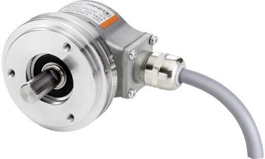 Inkrementális elfordulás jeladó teljes tengellyel 5-30 V/DC, 3600 impulzus/fordulat tengely Ø 12 mm Kübler Sendix 5000