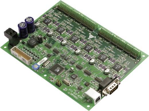 Trinamic 3 tengelyes léptetőmotor vezérlés TMCM-351-E-TMCL Üzemi feszültség 7 - 28.5 V/DC Fázisáram (max.) 2.8 A Szabályozható tengelyek száma 3 Csatlakozók USB, RS232, RS485, CAN és Encoder