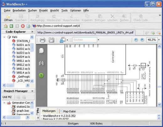 Processzor egység C-Control I Unit-M Advanced