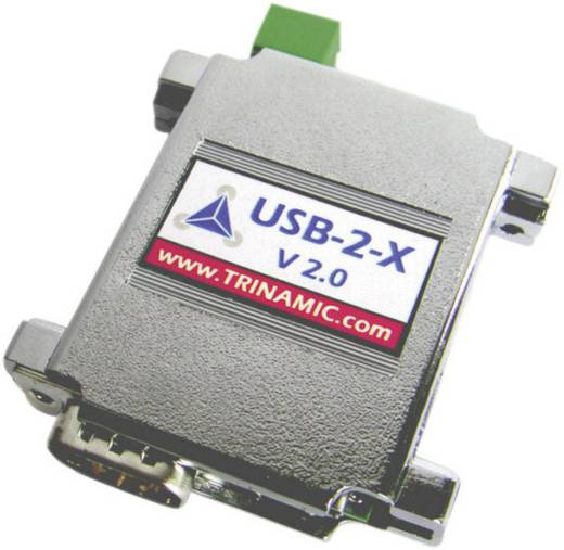 Csatlakozó átalakító, ház típus: univerzális dugaszos ház, Trinamic USB-2-X V2