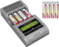 Ceruza AA, mikroceruza AAA automata akkumulátor töltő, regeneráló akkutöltő állomás, NiZn, NiCd, NiMh akkukhoz Voltcraft (200062) VOLTCRAFT