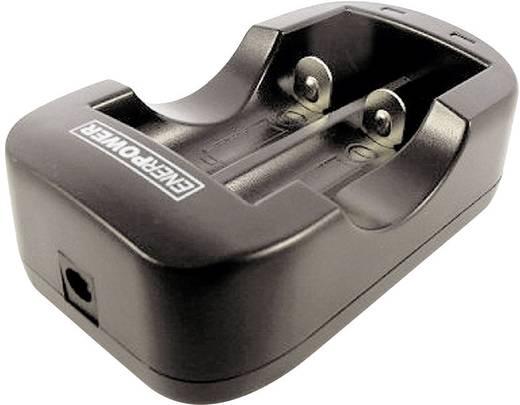 LiIon töltő 14500/18650-es akku cellákhoz, töltő áram: 1000 mA, EnerDan 136580 Enerpower Multi