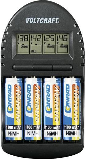 Ceruza AA, mikroceruza AAA automata akkumulátor töltő Voltcraft BC-300