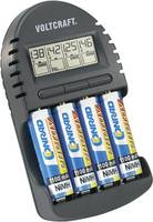 Ceruza AA, mikroceruza AAA automata akkumulátor töltő Voltcraft BC-300 (200121) VOLTCRAFT