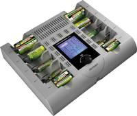 Akkutöltő állomás, hengeres akkutöltő, hengeres és 9 V-os NiCd, NiMH, NiZn akkukhoz Voltcraft Charge Manager 2024 (1540996) VOLTCRAFT