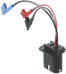 Akkumulátor csatlakozó átalakító, krokodilcsipeszes csatlakozással 3,6-30 V, NiCd, NiMH, LiIon akkukhoz AP 3 7-0006-0010 Akku Power
