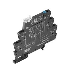Weidmüller Félvezető relé 10 db TOS 12VDC 230VAC1A Terhelési áram (max.): 1 A Kapcsolási feszültség (max.): 240 V/AC Weidmüller