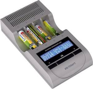 Ceruza AA, mikroceruza AAA automata akkumulátor töltő és regeneráló akkutöltő állomás Voltcraft Charge Manager 420 (202420) VOLTCRAFT