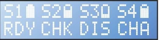 Ceruza AA, mikroceruza AAA automata akkumulátor töltő, regeneráló akkutöltő állomás Voltcraft Charge Manager 420+4db 270
