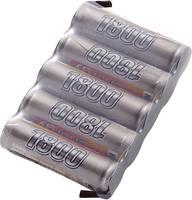 Conrad energy NiMH 6V / 1800mAh Side by Side kivitelű csatlakozó nélküli vevő akkupack Conrad energy