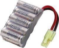 Conrad Energy NiMH 2/3 AAA 12V / 350mAh tömb kialakítású Mini Tamiya csatlakozással ellátott akkupack Conrad energy
