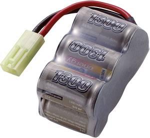 Conrad energy NiMH 2/3 A 7.2V / 1300mAh tömb kialakítású Mini Tamiya csatlakozóval ellátott akkupack Conrad energy
