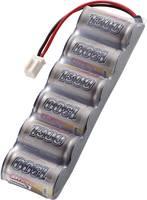 NiMH 2/3 A 7.2V / 1300mAh Side by Side kivitelű Micro autó csatlakozós akkupack Conrad Energy 206631 Conrad energy