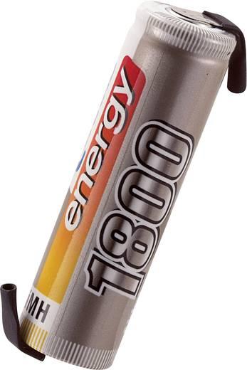 Conrad energy NiMH Mignon (AA) egycellás 1.2V / 1800mAh kapacitású forrfüles ceruza akkumulátor