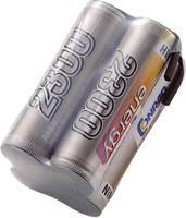 Conrad Energy 4.8V / 2300mAh Tömb kialakítású csatlakkozó nélküli vevő akkupack (206655) Conrad energy