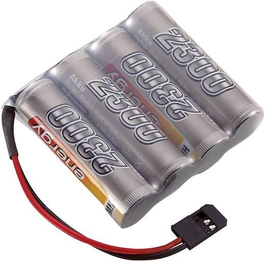Conrad Energy 4.8V / 2300mAh Side bySide kivitelű Futaba csatlakozóval ellátott vevő akkupack