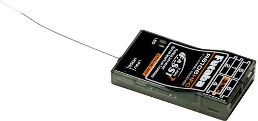 Vevő, 6 csatornás, R-6106 HFC 2,4 GHz