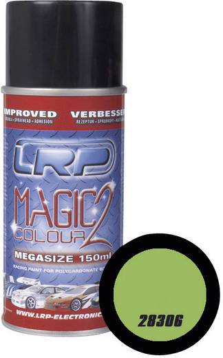 Lexan akril makett festék, modell festék spray 150ml fluoreszkáló zöld 306 LRP Electronic 28306