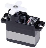 Graupner Mini szervó DES 477 BB Digitális szervó Hajtómű anyag: szén Dugaszoló rendszer: JR (7916) Graupner