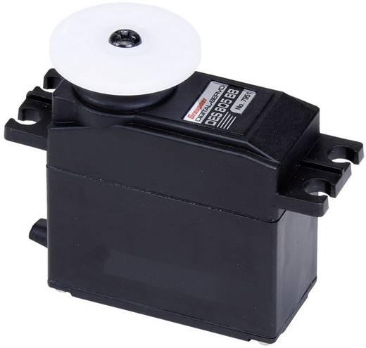 Graupner Standard szervó DES 806 BB, MG Digitális szervó Hajtómű-anyag: fém Dugaszoló rendszer: JR