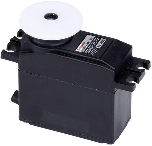 Graupner Standard szervó Digitális szervó Hajtómű-anyag: fém Dugaszoló rendszer: JR
