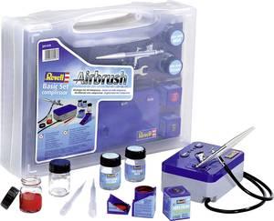 Festékszóró készlet kompresszorral, Revell Basic Revell