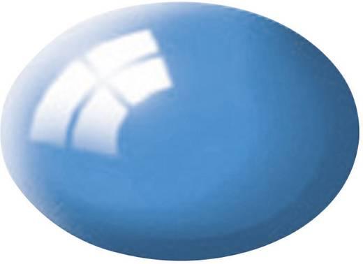 Festék, kék, fényes, színkód: 50 RAL, színkód: 5012, 18 ml, Revell Aqua