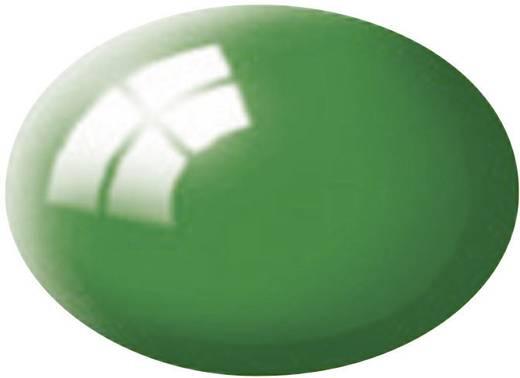 Festék, smaragdzöld, fényes, színkód: 61 RAL, színkód: 6029, 18 ml, Revell Aqua