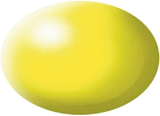 Festék, fényes sárga, selyemmatt, színkód: 312 RAL, színkód: 1026, 18 ml, Revell Aqua