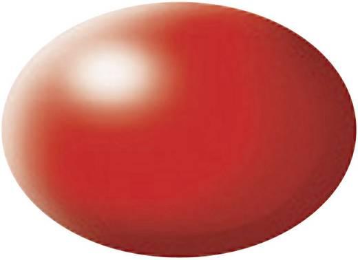 Festék, fényes piros, selyemmatt, színkód: 332 RAL, színkód: 3026, 18 ml, Revell Aqua
