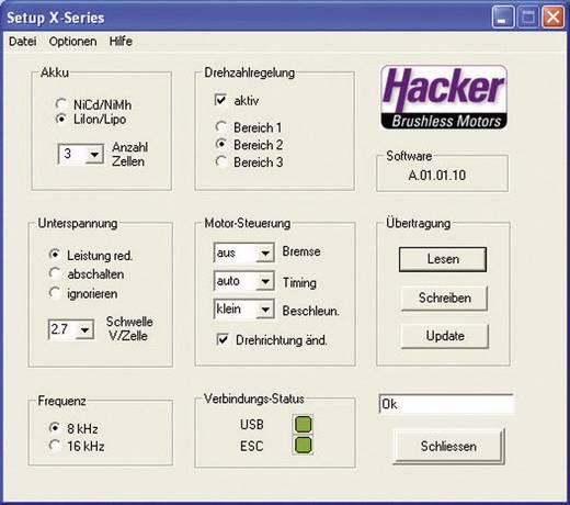 Hacker X-Pro V2 USB csatlakozó Alkalmas: X-Pro-Regler Serie