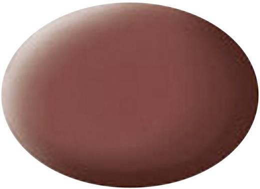 Festék, téglavörös, matt, színkód: 37 RAL, színkód: 3009, 18 ml, Revell Aqua