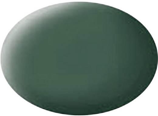 Festék, sötétzöld, matt, színkód: 39, 18 ml, Revell Aqua