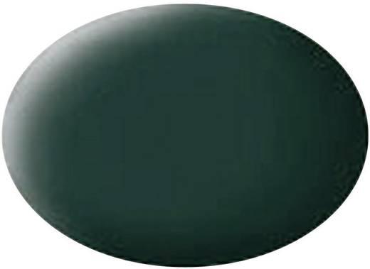 Festék, feketés zöld, matt, színkód: 40, 18 ml, Revell Aqua