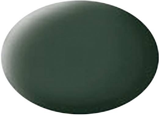 Festék, sötétzöld, matt, színkód: 68, 18 ml, Revell Aqua