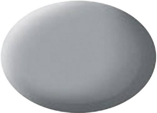 Festék, világosszürke, matt, színkód: 76, 18 ml, Revell Aqua