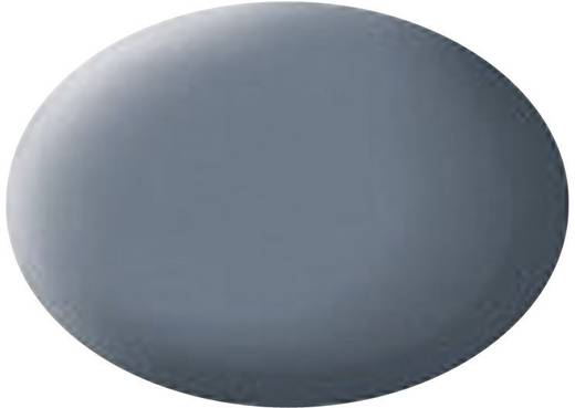 Festék, kék-szürke, matt, színkód: 79 RAL, színkód: 7031, 18 ml, Revell Aqua