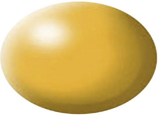 Festék, Lufthansa sárga, selyemmatt, színkód: 310 RAL, színkód: 1028, 18 ml, Revell Aqua